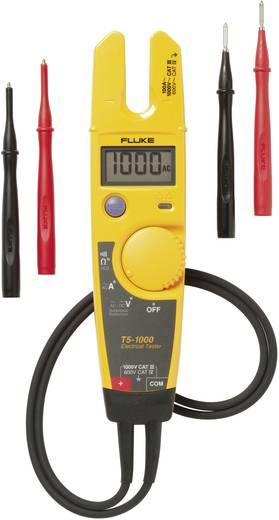 Fluke T5-1000 Zweipoliger Spannungsprüfer, 1 V - 1000 V/AC/DC LCD (4000 Counts) CAT III 1000V