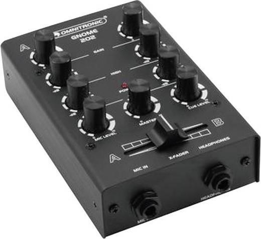 DJ Mixer Omnitronic Gnome E-202