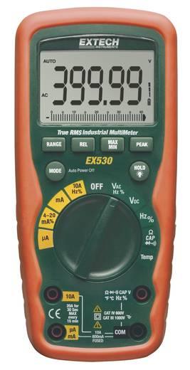Extech EX530 Hand-Multimeter digital Kalibriert nach: ISO Wasserdicht (IP67) CAT III 1000 V, CAT IV 600 V Anzeige (Count
