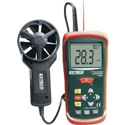 Přístroj na měření teploty a proudění vzduchu AN-200, kalibrováno dle ISO