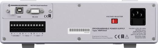 Rohde & Schwarz HMP2030 Labornetzgerät, einstellbar 0 - 32 V/DC 0 - 5 A 188 W USB, RS-232 OVP, programmierbar Anzahl Aus