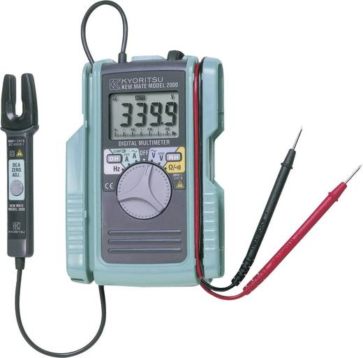 Stromzange, Hand-Multimeter digital Kyoritsu KEW MATE2001 Kalibriert nach: Werksstandard CAT II 600 V, CAT III 300 V An