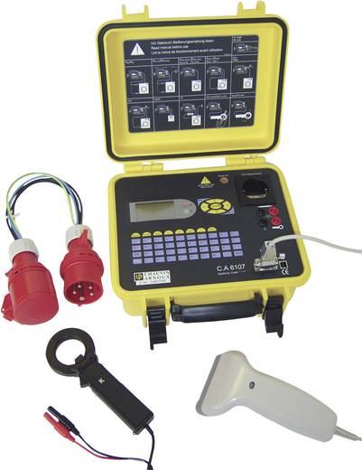 Digitaler VDE 0701-0702 Gerätetester C.A 6107