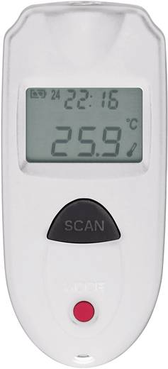 VOLTCRAFT IR 110-1S Infrarot-Thermometer Optik 1:1 -33 bis +110 °C Pyrometer Kalibriert nach: DAkkS