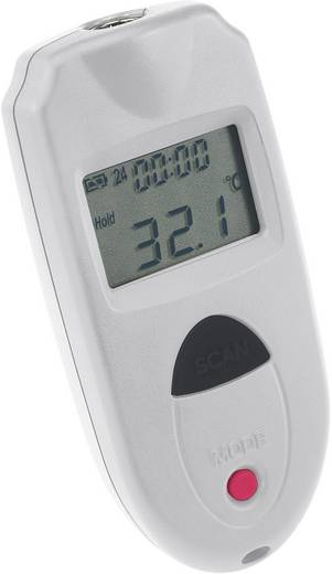 Infrarot-Thermometer VOLTCRAFT IR 110-1S Optik 1:1 -33 bis +110 °C Pyrometer Kalibriert nach: DAkkS