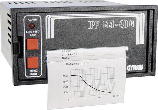GMW IPP144-40GS, 19-36VDC Grafikfähiger Thermodrucker IPP1444-40GS - Einbaumaße 138 x 68 mm
