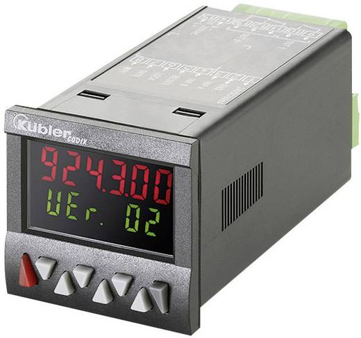 Kübler CODIX 924 AC Vorwahlzähler CODIX 924 AC, 90 - 260 V/AC Einbaumaße 45 x 45 mm