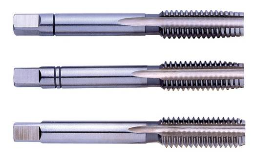 Eventus 10044 Handgewindebohrer-Set 3teilig metrisch M20 2.5 mm Rechtsschneidend DIN 352 HSS 1 Set