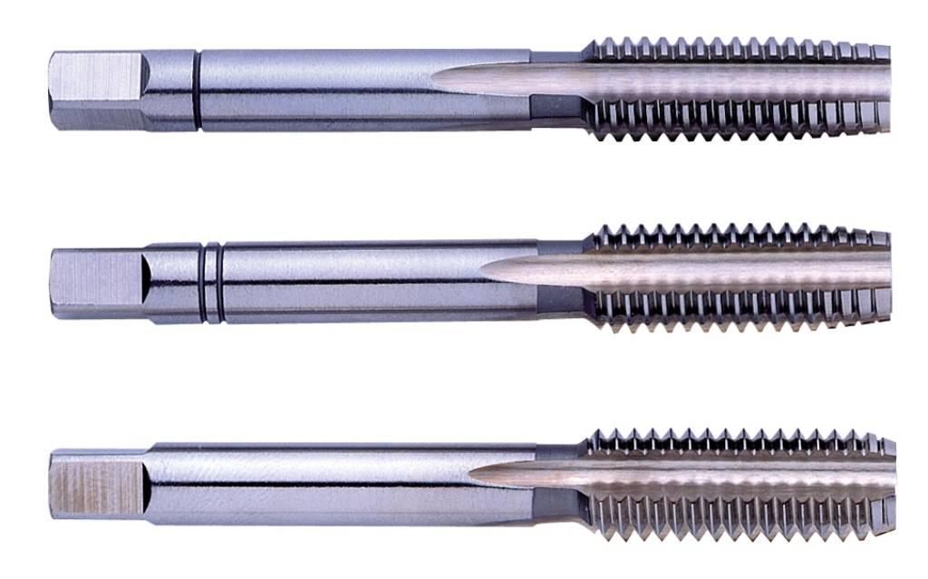 DIN 371 GSR-Silver Maschinengewindebohrer M2,5 HSSE FORM B Gewindeschneider f/ür Edelstahl