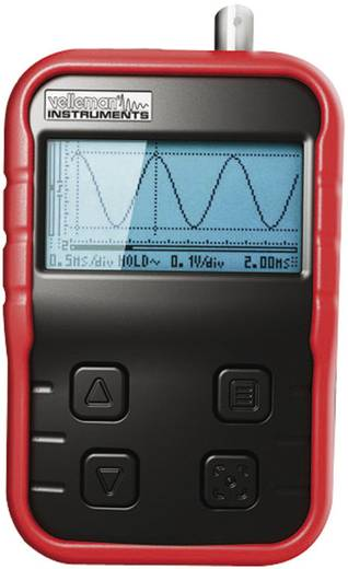 Hand-Oszilloskop (Scope-Meter) Velleman HPS140i 10 MHz 1-Kanal 40 MSa/s 8 Bit Kalibriert nach Werksstandard (ohne Zerti
