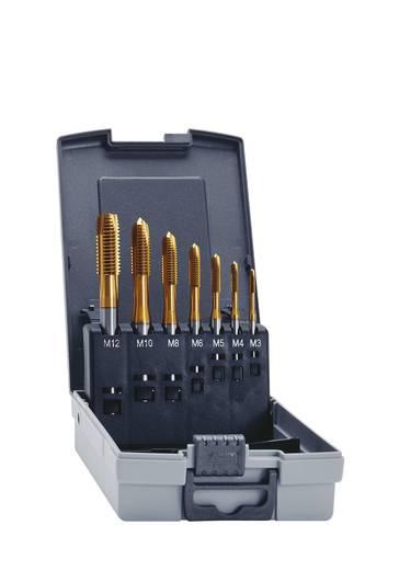Eventus 11334 Maschinengewindebohrer-Set 7teilig metrisch Rechtsschneidend DIN 371, DIN 376 HSS-E Form B 1 Set