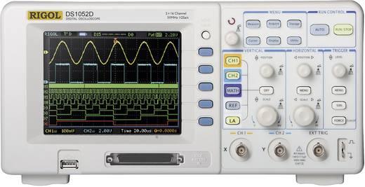 Digital-Oszilloskop Rigol DS1052D 50 MHz 18-Kanal 500 MSa/s 512 kpts 8 Bit Kalibriert nach DAkkS Digital-Speicher (DSO),