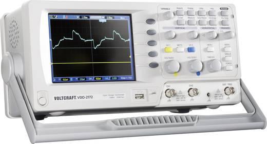 Digital-Oszilloskop VOLTCRAFT VDO-2072 70 MHz 2-Kanal 250 MSa/s 4 kpts 8 Bit Kalibriert nach DAkkS Digital-Speicher (DSO