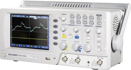 Digital-Oszilloskop VOLTCRAFT VDO-2152A 150 MHz 2-Kanal 1 GSa/s 1 Mpts 8 Bit Kalibriert nach DAkkS Digital-Speicher (DSO