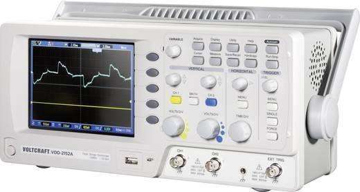 Digital-Oszilloskop VOLTCRAFT VDO-2152A 150 MHz 2-Kanal 1 GSa/s 1 Mpts 8 Bit Kalibriert nach ISO Digital-Speicher (DSO)