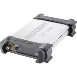 USB, PC osciloskop VOLTCRAFT DSO-2020 USB, 2-kanálová, 20 MHz, Kalibrované podľa (ISO)