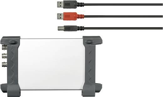Oszilloskop-Vorsatz VOLTCRAFT DSO-1052 USB 50 MHz 2-Kanal 150 MSa/s 64 kpts 8 Bit Digital-Speicher (DSO), Spectrum-Analyser