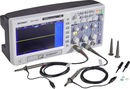 Digital-Oszilloskop VOLTCRAFT DSO-1062D 60 MHz 2-Kanal 500 MSa/s 512 kpts 8 Bit Kalibriert nach Werksstandard Digital-Sp