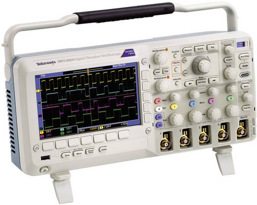 Digital-Oszilloskop Tektronix DPO2012B 100 MHz 2-Kanal 1 GSa/s 1 Mpts 8 Bit Kalibriert nach DAkkS Digital-Speicher (DSO)
