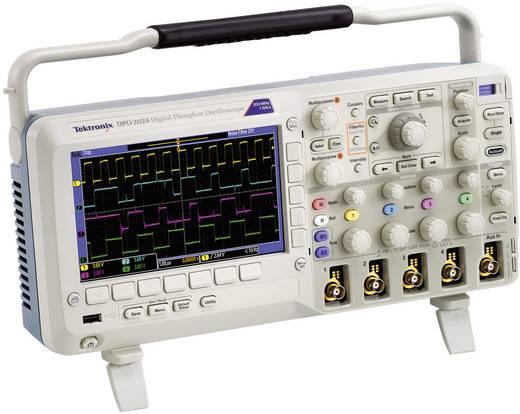 Digital-Oszilloskop Tektronix DPO2024B 200 MHz 4-Kanal 1 GSa/s 1 Mpts 8 Bit Kalibriert nach DAkkS Digital-Speicher (DSO)