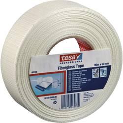 Páska so skleným vláknom tesa 60100-0-0 60100-0-0, (d x š) 90 m x 50 mm, akryl, biela, 1 ks