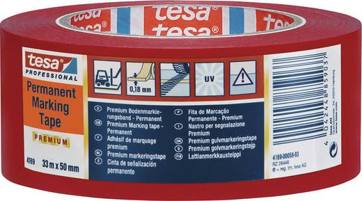 Markierungsklebeband Rot (L x B) 33 m x 50 mm tesa 4169-59-93 1 Rolle(n)