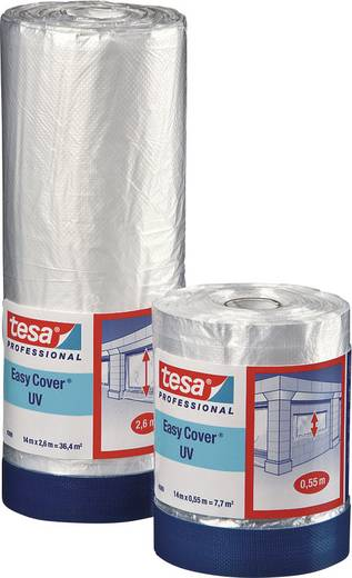 tesa 04369-11-1 Abdeckfolie tesa Easy Cover® 4369 Transparent (L x B) 14 m x 1.80 m 1 Rolle(n)
