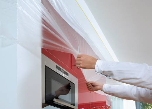 tesa 04365-2-0 Abdeckfolie tesa Easy Cover® 4369 Transparent (L x B) 14 m x 2.10 m 1 Rolle(n)