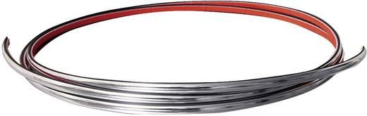 Eufab Chrom Zierleiste, universell, 3m x 7mm Chrom (glänzend)