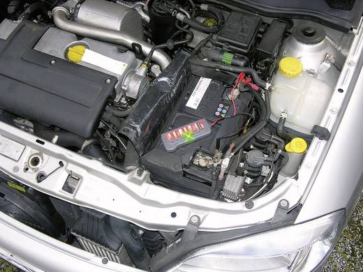 Kfz-Batterietester Eufab 12 cm x 5 cm x 1.6 cm