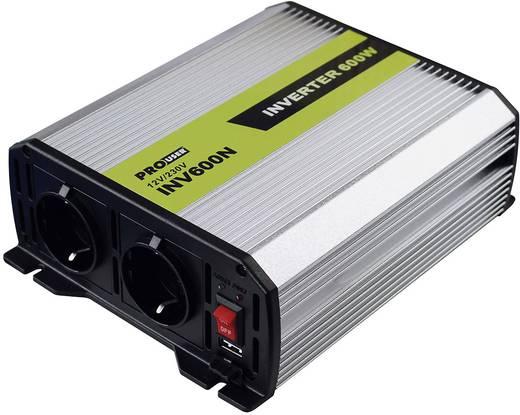 Wechselrichter ProUser INV600N 600 W 12 V/DC 11 V/DC -15 V/DC Zigarettenanzünder-Stecker, DC-Klemmen