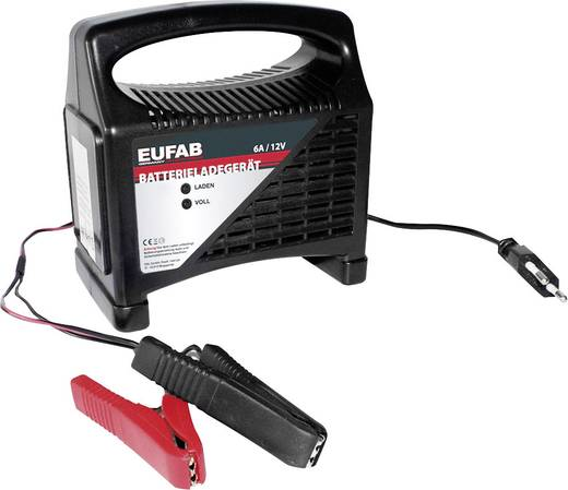 Automatikladegerät Eufab 16542 12 V 3.5 A