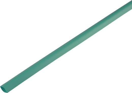 Schrumpfschlauch ohne Kleber Grün 16.70 mm Schrumpfrate:2:1 1225421 Meterware