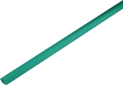 Schrumpfschlauch ohne Kleber Grün 19 mm Schrumpfrate:2:1 1225423 Meterware