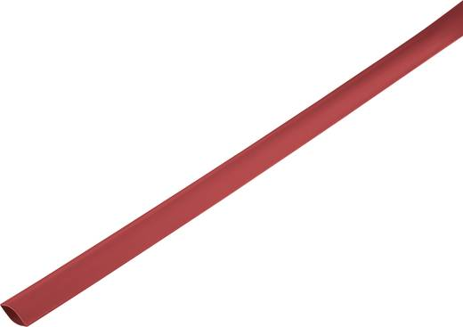 Schrumpfschlauch ohne Kleber Rot 21 mm Schrumpfrate:2:1 1225455 Meterware