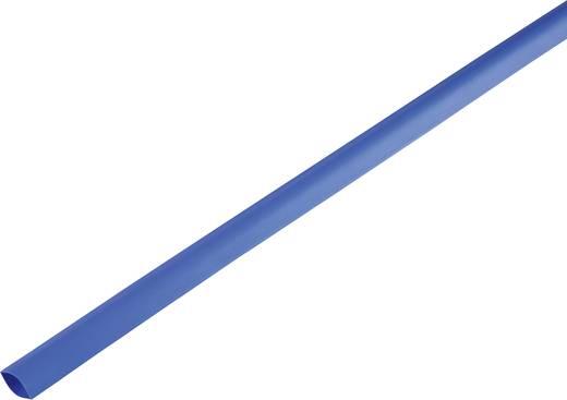 Schrumpfschlauch ohne Kleber Blau 16.70 mm Schrumpfrate:2:1 1225518 Meterware