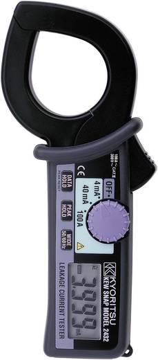 Stromzange, Hand-Multimeter digital Kyoritsu KEW 2432 Kalibriert nach: DAkkS CAT III 300 V Anzeige (Counts): 4000