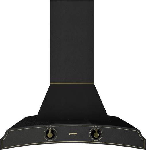 wand dunstabzugshaube 60 cm gorenje classico dk63mclb d 65 db schwarz. Black Bedroom Furniture Sets. Home Design Ideas