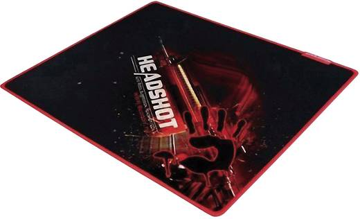 Gaming-Mauspad A4 Tech Bloody Onslaught Small Gaming Mousepad - Speed Surface Schwarz