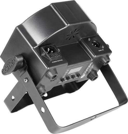 LED-PAR-Scheinwerfer Cameo CLPFLAT1TRI3WIR Anzahl LEDs: 7 x Schwarz