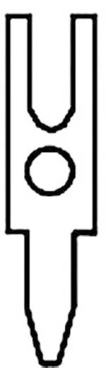 Lötstift Kontaktoberfläche verzinnt Vogt Verbindungstechnik 1017.68 100 St.