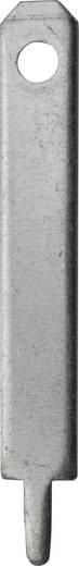 Steckzunge Steckbreite: 2.8 mm Steckdicke: 0.8 mm 180 ° Unisoliert Metall Vogt Verbindungstechnik 3780l.68 100 St.