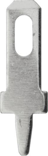 Steckzunge Steckbreite: 2.8 mm Steckdicke: 0.5 mm 180 ° Unisoliert Metall Vogt Verbindungstechnik 3773a05.68 100 St.