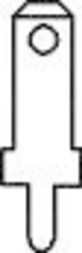 Steckzunge Steckbreite: 2.8 mm Steckdicke: 0.5 mm 180 ° Unisoliert Metall Vogt Verbindungstechnik 3775a05.68 100 St.
