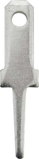 Steckzunge Steckbreite: 2.8 mm Steckdicke: 0.8 mm 180 ° Unisoliert Metall Vogt Verbindungstechnik 3775b08.68 100 St.