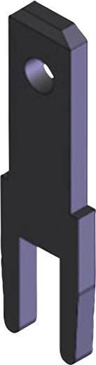 Steckzunge Steckbreite: 2.8 mm Steckdicke: 0.8 mm 180 ° Unisoliert Metall Vogt Verbindungstechnik 3785c08.68 100 St.