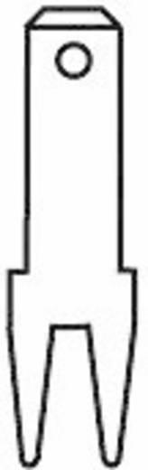 Steckzunge Steckbreite: 2.8 mm Steckdicke: 0.5 mm 180 ° Unisoliert Metall Vogt Verbindungstechnik 3785a05.68 100 St.