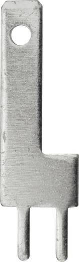 Steckzunge Steckbreite: 2.8 mm Steckdicke: 0.8 mm 180 ° Unisoliert Metall Vogt Verbindungstechnik 3785q08.68 100 St.