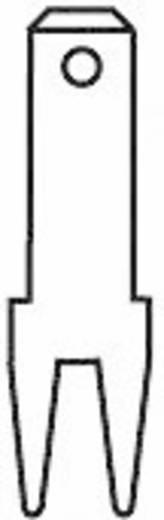 Steckzunge Steckbreite: 2.8 mm Steckdicke: 0.8 mm 180 ° Unisoliert Metall Vogt Verbindungstechnik 3785a08.68 100 St.