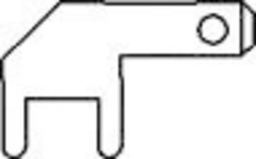 Steckzunge Steckbreite: 2.8 mm Steckdicke: 0.8 mm 90 ° Unisoliert Metall Vogt Verbindungstechnik 378908.68 100 St.